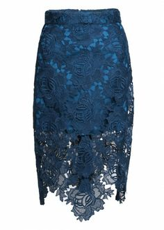 Pencil Lace Skirt | House Of Holland