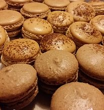 White Orchid Bakery - Chocolate, Coffee and Mocha Macarons