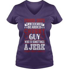PROUD WIFE OF BEARDED CHUBBY GUY SHIRT - Womens V-Neck T-Shirt  #gift #ideas #Popular #Everything #Videos #Shop #Animals #pets #Architecture #Art #Cars #motorcycles #Celebrities #DIY #crafts #Design #Education #Entertainment #Food #drink #Gardening #Geek #Hair #beauty #Health #fitness #History #Holidays #events #Home decor #Humor #Illustrations #posters #Kids #parenting #Men #Outdoors #Photography #Products #Quotes #Science #nature #Sports #Tattoos #Technology #Travel #Weddings #Women