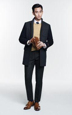 지오지아, 댄디한 김수현 코트 스타일링 제안 http://www.fashionseoul.com/?p=23372