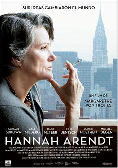 #HannahArendt #Estrenos de la cartelera de cine española del 21 de Junio de 2013. Pincha en el cartel para ver el tráiler
