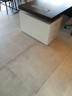 Vloer keramische tegels 180x80 betonlook (Italiaanse terracotta?)