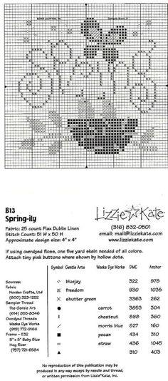 lizzie kate free patterns - Google Search   Punto De Cruz ...