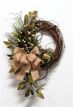 Farmhouse Fall Wreath | The Wreath Shed