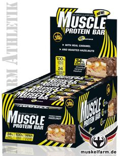 All Stars Muscle Protein Bar #Energieriegel #Snack #Protein #Sport #Fitness