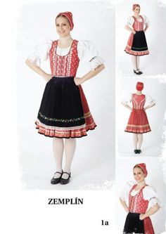 Zemplín region, Eastern Slovakia. Folk Embroidery, Folk Costume, My Heritage, Eastern Europe, Ethnic Fashion, Czech Republic, Dance Costumes, Folklore, Traditional Outfits