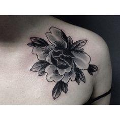 Last one #tattoo #tattoos #tattooart #art #tattooing #traditionaltattoo #traditional #tradtattoo #peony #japanesepainting #japanesetattoo #peonytattoo #flowertattoo #newtraditional #Blxckink #blackworkers #bngtattoo