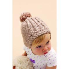 Baby Hat For Little Ears Free Knitting Pattern