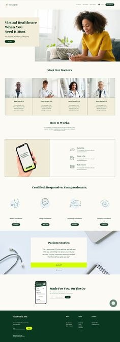Online Medical Consultation | Website Template