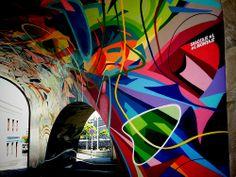 Graffiti Sabotaje al Montaje. Santa Cruz. mayo 2014.31