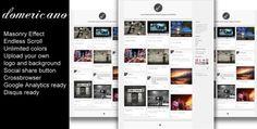 Photography Tumbr themes
