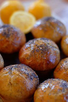 Lemon-Poppyseed Mini Brioches (Artisan Bread in 5 Minutes)
