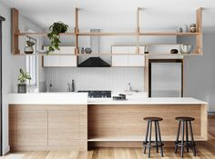 1970's Single Storey Red Brick House in Caulfield South, Melbourne, Victoria, Australia by Doherty Design Studio