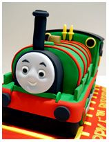 Percy from Thomas & Friends Birthday Cake