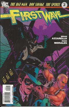 DC First Wave comic issue 2