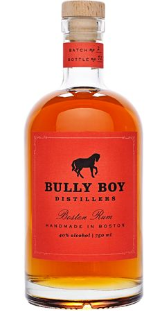bully boy distillers,| boston rum. great packaging.