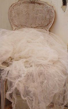 Lovely Vintage French Tulle ~ My Kind Of Beauty ~