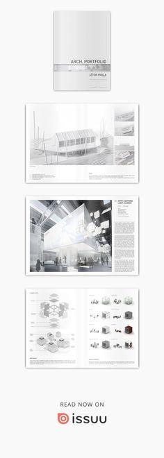 Iztok Hvala M. Arch architectural portfolio 2014 / 2015