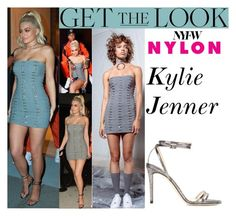 """""""Kylie Jenner Nylon Rebel Fashion Party September.8.2016"""" by valenlss ❤ liked on Polyvore featuring Jimmy Choo"""