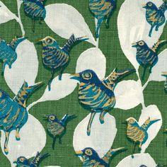 Lulu DK 63004LD-4 KELLY GREEN Fabric