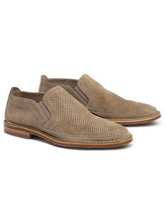 135823d2d8c Trask Bradley Perf in Taupe Suede