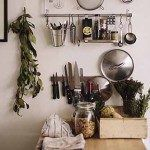 Kitchen wall storage ikea hanging pots ideas for 2019 Diy Kitchen, Kitchen Dining, Kitchen Decor, Kitchen Utensils, Kitchen Ideas, Kitchen Small, Thug Kitchen, Hanging Pots Kitchen, Kitchen White