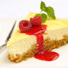 Amerikkalainen juustokakku - Reseptejä Philadelphia, Cheesecake, Pie, Baking, Sweet, Desserts, Foods, Drink, Cheesecake Cake