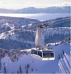 My favorite ski slopes! Where the 1960 Winter Olympics were held. There is also great skiing at Mt. Rose, Nevada side of the lake, Northstar near Tahoe City and Heavenly Valley on the S. Caught this ride everyday! The Places Youll Go, Places To Go, Nevada, Ski Magazine, Reno Tahoe, Alpine Meadow, Ski California, Snow Skiing, Earth