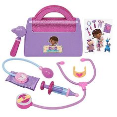 "DONE - Disney Doc McStuffins Doctor's Bag Playset - 7 piece set - Just Play - Toys ""R"" Us - $19.99 (Lexi)"