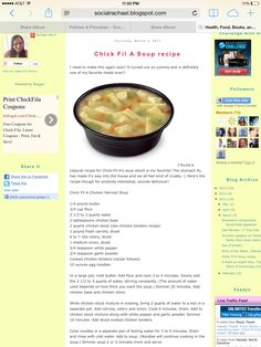 OOOO...I want to try! copycat Chick-fil-a chicken noodle soup