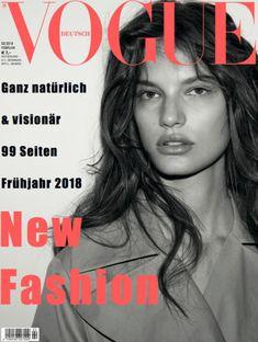 Faretta by Daniel Jackson///Vogue Germany February 2018