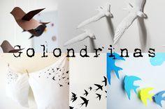 golondrinas- swallows