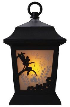 Tinker bell in the lantern