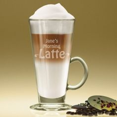 Personalised Glass Morning Latte Mug https://harringtons-gift-store.co.uk/collections/gifts-for-her/products/personalised-glass-morning-latte-mug