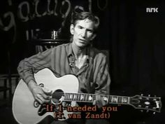 Townes Van Zandt, Interview about Doc Watson & If I Needed You (Oslo, N, 1992) - YouTube