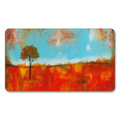 SOLD!!  Rapture, Abstract Landscape Tree Art Painting, Double-Sided Standard Business Cards (Pack Of 100)