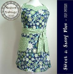 Modern Vintage Designs Sweet & Sassy Plus - Downloadable Pattern