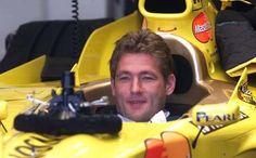 Jos Verstappen (Jordan Mugen V10, 199). Silverstone Test