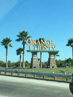 Orange County sign