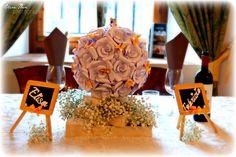 L'allestimento del matrimonio Il tavolo degli sposi https://www.facebook.com/SecretgardenSposarsirisparmiando?fref=ts