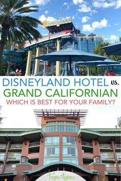 the Grand Californian - which Disneyland hotel is better? A complete comparison guide between Disney's Grand Californian and the Disneyland Hotel, the two most luxury hotels by. Disneyland Paris, Hotels Near Disneyland, Disneyland Secrets, Disneyland Vacation, Disney Vacation Planning, Disneyland California, Disney California Adventure, Disney World Resorts, California Travel