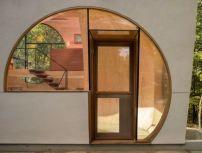 Kleine Künstlerresidenz von Steven Holl fertiggestellt / Experimenteller Dekonstruktivismus - Architektur und Architekten - News / Meldungen / Nachrichten - BauNetz.de