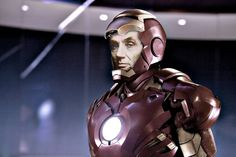 Iron Man gave his suit to Lincoln.