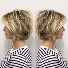 """""""B O B B Y #bob #hair #texture #livedinhair #ramireztransalon"""""""