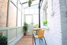 Side return. Lean To Conservatory, Conservatory Kitchen, Conservatory Ideas, Glass Extension, Extension Ideas, Side Return Extension, Kitchen Cabinet Remodel, Kitchen Cabinets, Side Porch