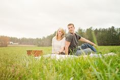 Farm Engagement Pictures