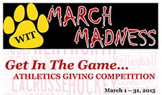 The month of March allows those who give to WIT the chance to further support current varsity teams. A gift of any amount made between March 1 at 12:00 a.m. and March 31 at 11:59 p.m. counts toward a designated team's total (one donation per person). 100% of each donation goes directly to that team's program. The team with the most donor participation will win $1,000 to assist with team operations. All former and current student-athletes and family/friends of student-athletes may…