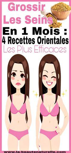 Grossir les seins en 1 mois : 4 Recettes orientales les plus efficaces #Grossir #seins