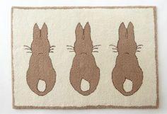 Bunny Rabbit Rug from The Nursery Window