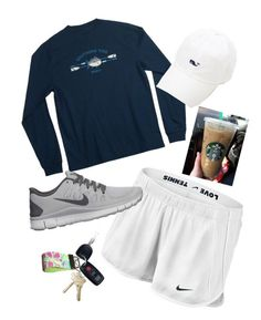 southern tide and nikes. - Tap the pin if you love super heroes too! Cause guess what? you will LOVE these super hero fitness shirts! Lazy Day Outfits, Cute Comfy Outfits, Sporty Outfits, Athletic Outfits, College Outfits, Outfits For Teens, Summer Outfits, Girl Outfits, Fashion Outfits
